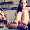 Gts (gtsteenlover) Tags: woman feet foot small goddess dirty teen micro blonde brunette crush slave giantess