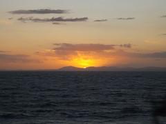 Shell Island Sunset (SteffDawn) Tags: sunset sky sun mountain holiday beautiful shadows framed shellisland