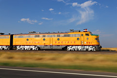 Cheyenne Frontier Days Train - Pierce, Colorado
