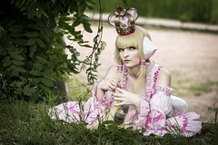 Chobits (Xubaet) Tags: anime nature girl beautiful female germany costume princess cosplay manga rosa chobits chi blonde cosplayer dsseldorf 2014 northrhinewestphalia persocom nordpark stockum cosplaying  cosplaygirl dokomi