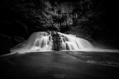 Source Du Lison (ThomasJacquemotPhotographie) Tags: noiretblanc paysage cascade poselongue