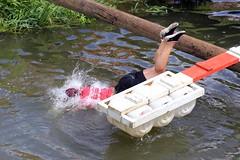 River Knock-Out _ 037 (lens buddy) Tags: uk england wet fun somerset games rafting raft watersports fancydress cameraclub summergames wetboys langport wetclothes thorney canoneosdigital wetgirls crazyrafting lowlandgames2014 riverknockoutchallenge itaknockout