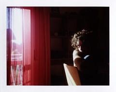 Daysleeper (La T / Tiziana Nanni) Tags: portrait man polaroid luca shadows ritratti ritratto pola lightshadows pellicola analogico peelapart colorpackii manportrait istantanea fujifp100c iamyou tizianananni