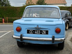 SIMCA 1000 (rear) (xavnco2) Tags: blue france classic cars french automobile antique rear meeting autos common 1000 1964 bleue picardie simca arrire 2014 somme raduno rassemblement lamottewarfuse