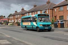 Hinckley Bus (Arriva Midlands) 1905 YM55RRX (Andy4014) Tags: bus mercedes benz beaver midlands arriva hinckley vario plaxton ym55rrx