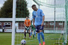 North Ferriby United 3-0 Hyde (KickOffMedia) Tags: road park england game net senior loss sport club ball manchester town stand football goal referee shoot play shot post cheshire kick terrace stadium soccer united north atmosphere ground player hyde lane points tigers friendly fields match conference pitch kickoff fans draw manager northern fc score premier spectator tackle grange league throw penalty midfielder fa grassroots striker defender ewen skill goalkeeper keeper stadia ferriby nonleague linesman manchesterfootball vanarama