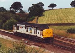 37411 (ee20213) Tags: derbyshire peakdistrict 374 class37 chinley 37290 37411 d6990 theinstitutionofrailwaysignalengineers railfreightconstruction chinleyeastjunction