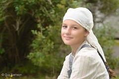 La jeune fille (à la perle) de Vermeer (guysamsonphoto) Tags: portrait portraiture vermeer victoriaville victo jeunefille nikond600 fabuleuse jeunefilleàlaperle guysamson fêtesvictoriennes nikon70200f4