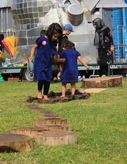 Oakmobile at Sparkhill Park (OakMobile) Tags: family birmingham community nt families barefoot nationaltrust communities pathway sparkhill barefootwalk lucymclachlan oakmobile sparkhillpark