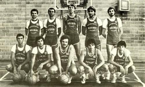 ACERBI Collegno Basket Serie C 1983