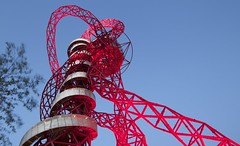 ArcelorMittal Orbit (jeetdhillon) Tags: park red abstract london tower metal architecture design elizabeth structure olympic orbit stratford arcelor mittal