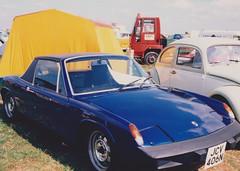 VW Porsche 914 @ Avon Park Raceway (ukdaykev) Tags: blue car vw classiccar porsche stratford stratforduponavon 914 avonpark vwporsche avonparkraceway jcv406n