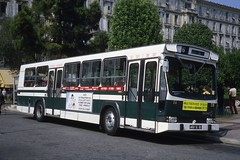 JHM-1980-1412 - France, Nice, autobus Berliet PR100 (jhm0284) Tags: france nice 06nice niceam alpesmaritimes