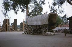 Knott's vintage slide (jericl cat) Tags: birdcage vintage wagon photo theater theatre slide covered western ghosttown knotts berryfarm