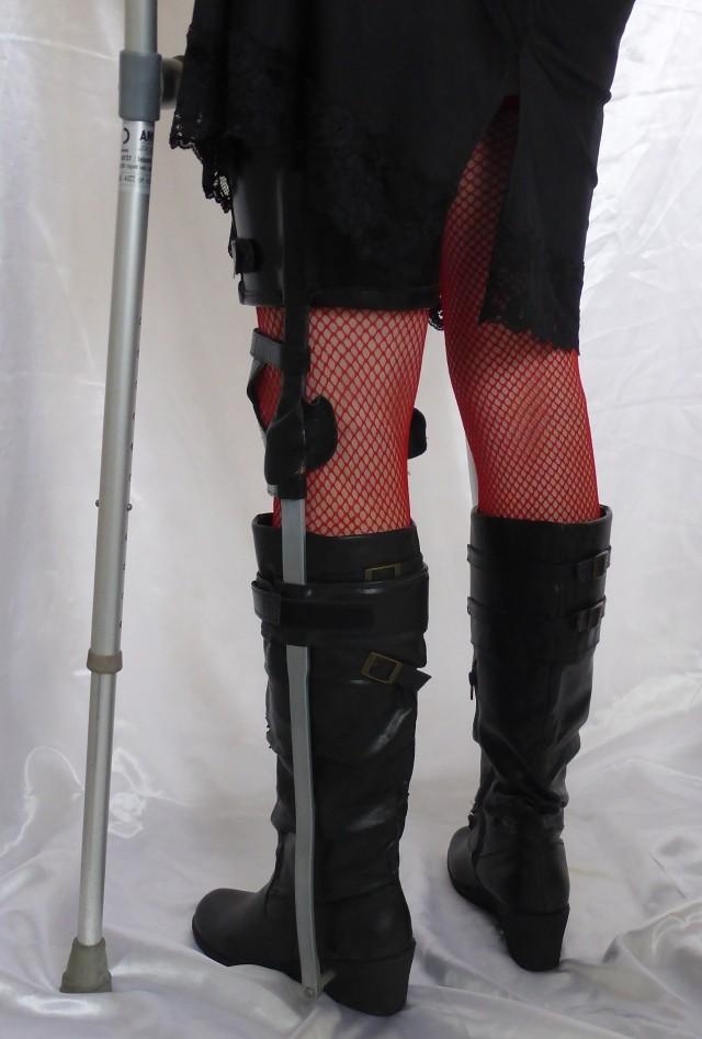 kafo leg braces and crutches