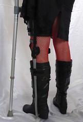 Boots and brace 3 (JKiste2008) Tags: leg brace kafo caliper