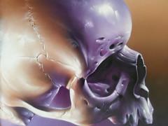 Smug... (colourourcity) Tags: streetart skull graffiti awesome melbourne smug canvas thanksshaun smugone juddyroller colourourcity juddyrollercafe