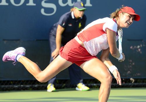 Monica Niculescu - 2014 US Open (Tennis) - Tournament - Monica Niculescu