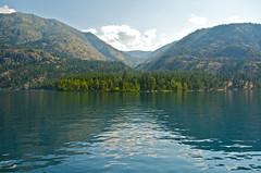 Lake Chelan (nebulous 1) Tags: blue trees lake mountains green water clouds landscape washington nikon lakechelan stehekin d7000 nebulous1