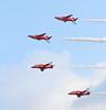 Reds 15 20140914 (Steve TB) Tags: hawk duxford redarrows raf imperialwarmuseum iwm rafat duxfordairshow baehawkt1