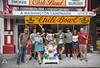 """The Bleachers with the DC101 winners at Ben's Chili Bowl • <a style=""""font-size:0.8em;"""" href=""""http://www.flickr.com/photos/47141623@N05/15124482052/"""" target=""""_blank"""">View on Flickr</a>"""