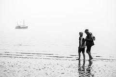 Seasoned Sea (mtop.hh) Tags: sea love beach strand blackwhite meer ship northsea portfolio oldercouple bsum marktominski