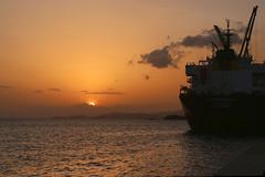 Port (Kak) Tags: ocean travel sea beach island seaside ship caribbean isla ilha trinidadtobago caribe