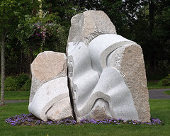 0008351      (Explore 09-14-2014) (Shakies Buddy) Tags: sculpture canada nb explore international symposium 2012 1000views ©allrightsreserved nbphoto quispamsis frombulgaria artsandculturepark sculptedbyagnessapetrova