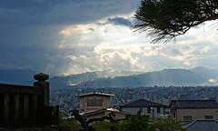 Sky rays after rain II (にく) Tags: sky cloud rain japan kyoto day ray cloudy 京都 日本 after 空 清水寺 関西 光 雨