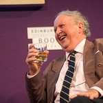 Alexander McCall Smith at the Edinburgh International Book Festival