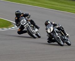 Motorbike (Bernie Condon) Tags: bike vintage racing motorbike motorcycle goodwood revival 2014