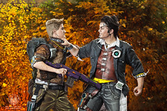 Did I ever tell you the name of my Diamond Pony .... (saroston) Tags: 2 jack photography all cosplay cell handsome we say gearbox commando shaded 2014 borderlands connichi axton so handsomejack commandoaxton