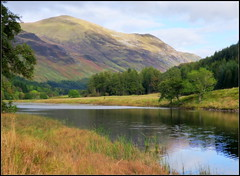 Glen Lyon Early Autumn (eric robb niven) Tags: nature landscape scotland dundee perthshire glenlyon ericrobbniven lumixfz72