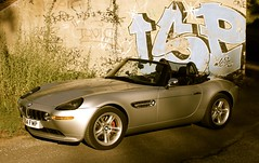 BMW Z8 Grafitti Wall, Bridge (Rev426) Tags: road bridge trees red orange usa white france car sport yellow wall silver grey mercedes james vineyard cool nikon europe martin alpina wheels sunny convertible super ferrari monaco m exotic mclaren graffitti bmw bond dashboard z4 dust aude lamborghini z1 scuderia z3 v8 aston lfa v10 007 mp4 amg volante noble vantage lexus maranello f430 dbs roadster d800 cabriolet v12 minervois db9 db5 db6 z8 argens m600 c63 laferrari aventador mp412c v354 sb910 v354fmp