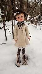 New outfit for Sindy  (Dolliina) Tags: sindy doll vintage crochet