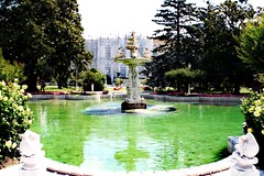 2016-02-10--16-28-43 (elfieren) Tags: istanbul palace dolmabahce dolmabahçe travel water fountain birds history historical places