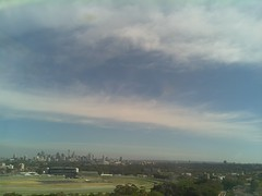Sydney 2016 Oct 21 08:48 (ccrc_weather) Tags: ccrcweather weatherstation aws unsw kensington sydney australia automatic outdoor sky 2016 oct earlymorning