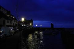 Notturna a Lynmouth (Enrico Conte) Tags: notte night notturna crepuscolare crepuscolo lynmouth orto barche cielo tramonto sea ocean mare oceano uk england inghilterra devon exmoor enricoconte canon efs1855 sunset notturno estate