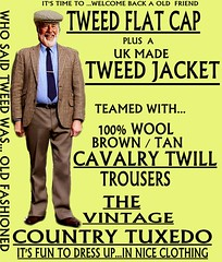 the Country Tuxedo wear tweed 3 (Ban Long Line Ocean Fishing) Tags: countrytuxedo tweed tweedjacketphotos tweeds tweedjacket tie twill texture tweedcoat trousers classic clothing canon coat country christchurch cavalrytwill cavalry nz newzealand napier nelson wellington blazer bloke guy cap clothes tweedcap flatcap scottish scotland uk british britain english england mens man mensfashion menswear hastings hamilton harris text houndstoothtweedjacket houndstooth harristweeds candid countrytweeds cavalrytwilltrousers coatjacketjacketcoats color retro oldschool old older