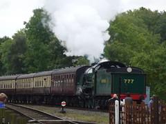 Great Central Railway Autumn Gala 2016 (davepcowan1) Tags: rothley 460 autumngala gcr steam locomotives leicestershire 777 sr sirlamiel