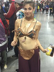 A slave for the flavor... (Honky275) Tags: nycc leia slaveleia starwars