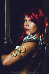 SP_50039-4 (Patcave) Tags: dragon con dragoncon 2016 dragoncon2016 cosplay cosplayer cosplayers costume costumers costumes shot hyborian age red sonja barbarians warriors comics comic book scifi fantasy movie film