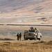 Um dos três carros blindados afegãos