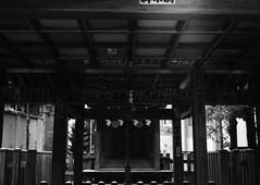 (a work) (Dinasty_Oomae) Tags: minolta  minoltina  minoltinas s   tokyo    monochrome outdoor street bw blackwhite blackandwhite  taitoku  ikenohata  sakaiinarishrine  shirine  frontshrine