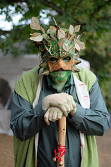 Green Man (.mushi_king) Tags: applefair autumn pagan paganism greenman green man folk tradition
