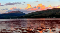 Ecosse - Scotland - Inveraray - coucher de soleil sur le Loch Flyne (AlCapitol) Tags: ecosse scotland inveraray nikon d800 loch lac lake lochflyne coucherdesoleil sunset