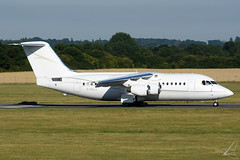 G-RAJJ   British Aerospace 146-200   Cello Aviation (JRC - Bourneavia) Tags: britishaerospace146200 146200 bae146 bae sou eghi southamptonairport cello celloaviation grajj