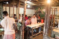 X106_4586 (bandashing) Tags: night nightlife food foodporn fastfood cafe samosa streetfood crude rudimentary unhygienic tea kettle black fire cook street sylhet manchester england bangladesh bandashing aoa socialdocumentary akhtarowaisahmed