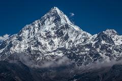 Annapurna South (7,219 m) (Stewart Miller Photography) Tags: annapurna south moditse dakshin nepal himalaya
