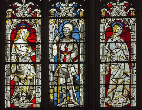 Gloucester Cathedral, Great East Window detail